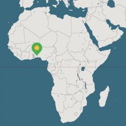 Carte-Benin